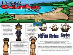 Columbus Day Pack  from Always A Lesson on TeachersNotebook.com -  (11 pages)  - Help students learn what Columbus day is all about with this informational pack that includes writing prompts, a foldable, comic strip activity and much more!