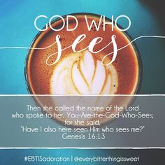 God who sees.