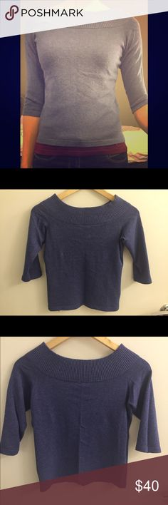 Margaret O'Leary boatneck sweater Buttery soft cozy 3/4 sleeve sweater by Margaret O'Leary. Perfect for layering, excellent condition. Margaret O'Leary Tops