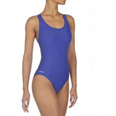 #Bañador #natación mujer Leony Azul Real #DECATHLON #Nabaiji