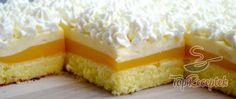 Fresh orange dessert with whipped cream Top-Rezepte.de - Fresh orange dessert with whipped cream. Instead of orange juice, you can use any orange lemonade, - Mini Muffin Desserts, Sweet Desserts, Just Desserts, Sweet Recipes, Cake Recipes, Dessert Recipes, Paleo Dessert, Whipped Cream Desserts, Orange Dessert