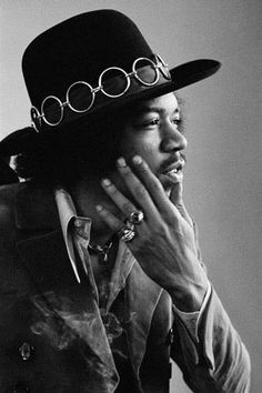 This months style icon : Jimi Hendrix