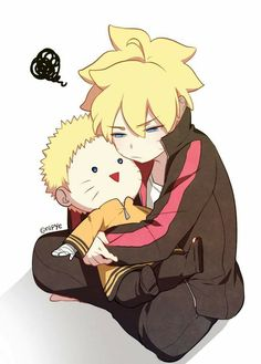 This is so cute omg..still not sure if I should just make boruto it's own board