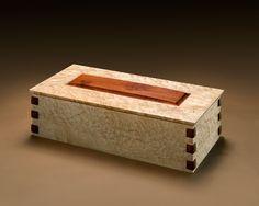 Custom Made Curly Maple Salvaged Box