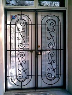 14. French Doors Patio,Interior French Doors,Security Gates ...