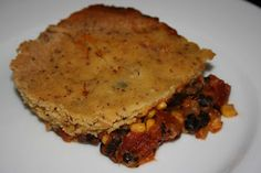 A Year of Slow Cooking: CrockPot Tamale Pie Recipe...love the versatility of vegetarian or adding meat.