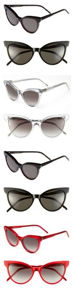 Crazy for cat-eye sunglasses!