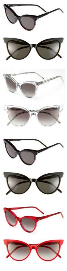Crazy for cat-eye sunglasses!