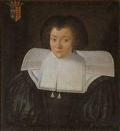 Portrait de Charlotte Marguerite de Montmorency, vers 1630 artiste inconnu