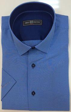 Синяя рубашка в клетку по супер выгодной цене 2900 руб руб, с бесплатной доставкой по Москве и России без предоплаты. В наличие размеры 2XL, M, L, XL, S, приезжайте к нам в магазин!