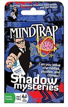 Mind Trap Mystery Card Game  Shadow Mysteries  the Ultimate Crime Mystery Card Game -- Visit the image link more details. Note:It is Affiliate Link to Amazon.