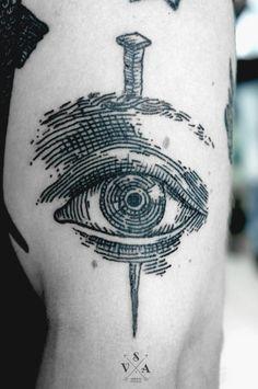 Andrey Svetov - eye - I like this tattoo style