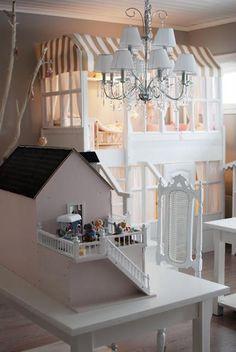Habitación de nena en primer piso  #bedroom #habitacion #nena #girl #pink #deco #inspiration