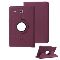 "1Pc 360 Rotating PU Leather Smart Case Cover Stand For 9.6"" Samsung Galaxy Tab"