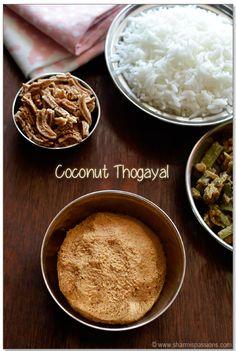 Coconut Thogayal Recipe