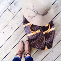 Selling this  SOLD Louis Vuitton Bag - Keepall 45 Duffle in my Poshmark closet! My username is: classy_sassy. #shopmycloset #poshmark #fashion #shopping #style #forsale #Louis Vuitton #Handbags