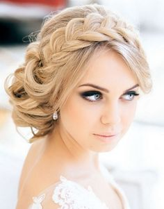 Perfect Braided Updos Hairstyles for Wedding
