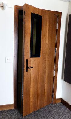 Soundproof Doors Sound Control Interior Door Studio Recording Home