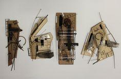 BArch Final Year - Concept (2 of 3) by Ian Lambert, via Behance