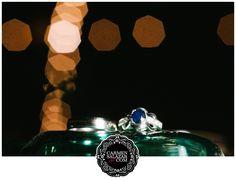 Sapphire wedding ring - Carmen Salazar
