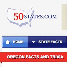 Oregon Facts & Trivia