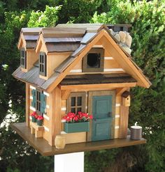 Cottage Charmer Rustic Retreat Birdhouse