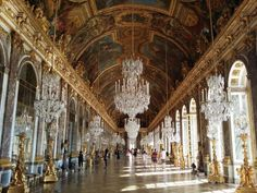 """A spectacular palace filled with extraordinary beauty and centuries of history"" VERSAILLES, SPAIN"