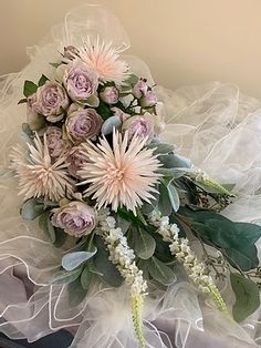 Mille Fleur, Custom silk bridal bouquets   Hendersonville, NC Silk Bridal Bouquet, Bridal Bouquets, Floral Wreath, Wreaths, Wedding, Decor, Flowers, Valentines Day Weddings, Wedding Bouquets