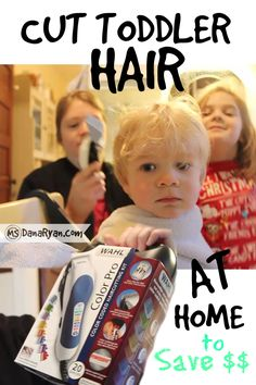 How To Cut Toddler Hair At Home | Wahl Clipper Haircut for Boys