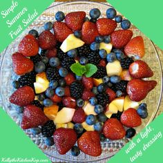 Simple Mixed Fruit Salad