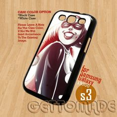 Harley Quinn - Print On Hard Case Samsung Galaxy S3 i9300   GetToMade - Accessories on ArtFire