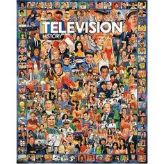 White Mountain Puzzles Television History � 1000 Piece Jigsaw Puzzle � The Toy Shop