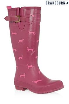Buy Brakeburn Sausage Dog Print Wellies from the Next UK online shop Dachshund, Next Uk, Uk Online, Rubber Rain Boots, Red, Stuff To Buy, Shopping, Winter 2017, Sausage