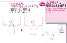 肩がカチカチ、重だるい、じんじんしびれて痛い……という肩こりに悩んでいる人は多いでしょう。実は、肩こりは「なで肩」「いかり肩」のいずれかによって対処法がまるっきり異なるのです。自分はどちらのタイプに当たるのかは、鎖骨が「上向き」か「下向き…[3ページ目]