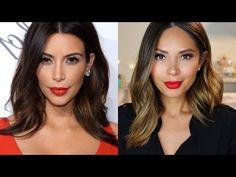 Kim Kardashian Inspired Hair Tutorial + Promo code - Life With Me by Marianna Hewitt