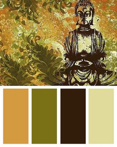 Zen garden color palette
