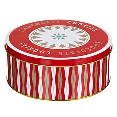 Buy Chocolate Cookie Tin, 300g Online at johnlewis.com