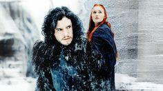 Jon and Sansa