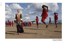 God Save the Queen and all: Valentino Spring/Summer 2016 Campaign #valentino #ss16 #campaign