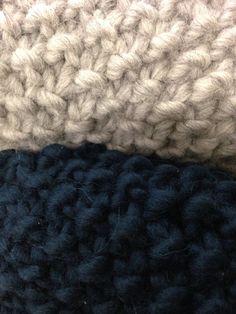 Knitted scarves by renskeversluijs