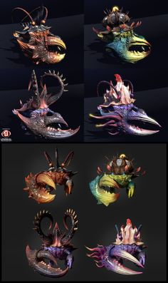 Crab monster, Kim Min-Chul on ArtStation at http://www.artstation.com/artwork/crab-monster