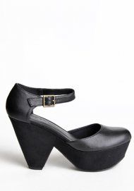 Oddly attracted to this platform shoe... very cute!