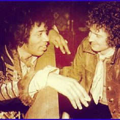 Jimi and Clapton