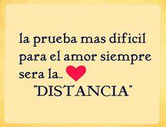 Amor a distancia frases bonitas la prueba más difícil para el amor
