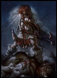Red Sonja by Daryl Mandryk #comics #art