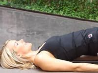 Want a flatter belly? This Criss-Cross pilates move works every muscle in your abdominals, obliques, and lower waist. | health.com