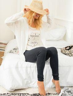 Pijama com 3 peças » Ref 6897045 em laredoute.pt