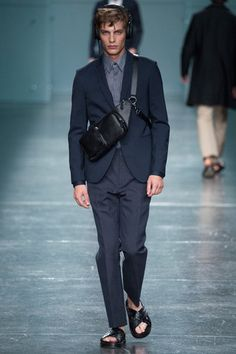 Fendi Spring 2015 Menswear Collection Slideshow on Style.com