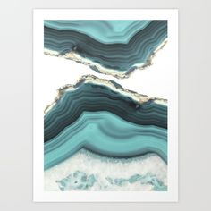 Sea Agate Art Poster by Cafelab - X Framed Canvas Prints, Canvas Artwork, Canvas Frame, Resin Art, Fine Art Prints, Just For You, Tapestry, Poster, Wall Art