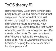 I REALLY HOPE NOX IS SOMEHOW INVOLVED WITH THE JEWELER 'CAUSE I LOVE HIM SO MUCH